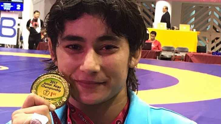 Wrestler Pooja Gehlot Wins Gold In Asian Junior Wrestling Championship
