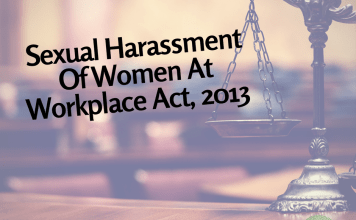 Sexual Harassment Of Women At Workplace Act, 2013 | #LawExplainers