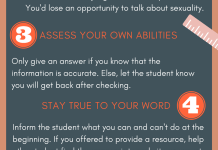 Teachers Tips Sexuality