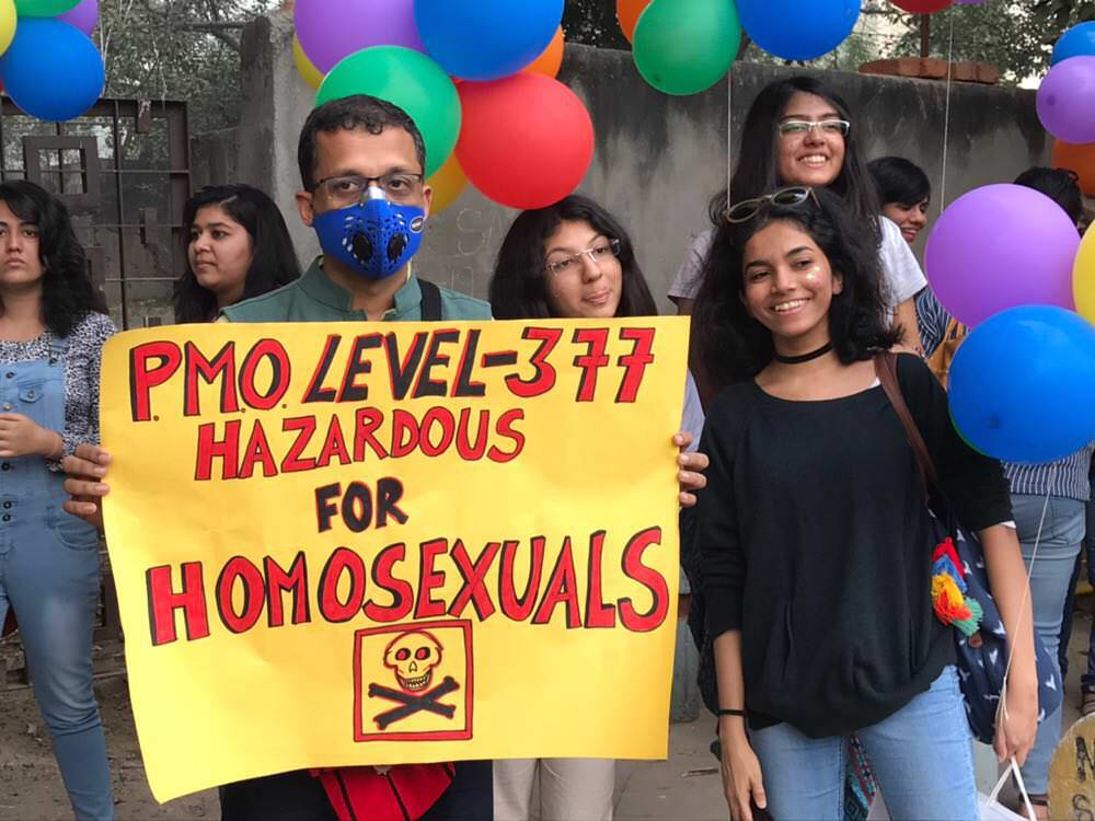 In Photos: 10th Delhi Queer Pride 2017 Among Smog And Haze