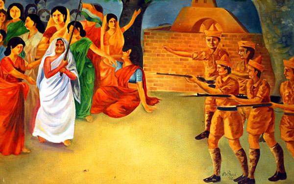 Matangini Hazra And Her Sacrifice For India's Freedom