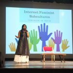 Asmita Ghosh at the Woman Up Summit