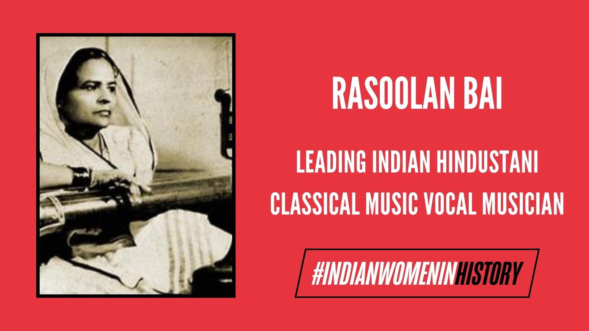 Rasoolan Bai