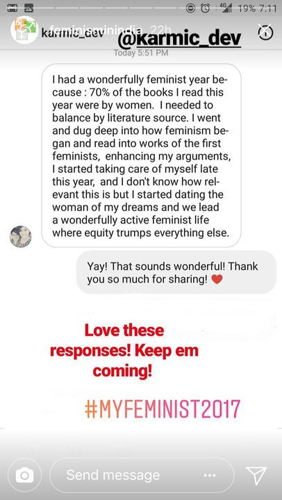 #MyFeminist2017