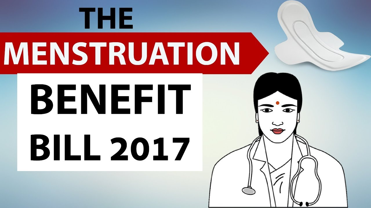 menstruation benefit bill