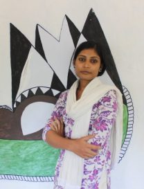 Madhubani artist- mahalaxami
