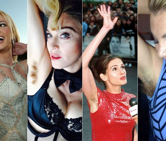 Celebrities With Hairy Armpits Main