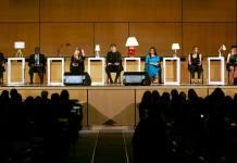 FII Founder Japleen Pasricha Reads SEVEN The Play In Geneva
