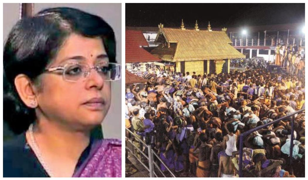 Justice Indu Malhotra – The Lone Dissenter Of The Sabrimala Verdict