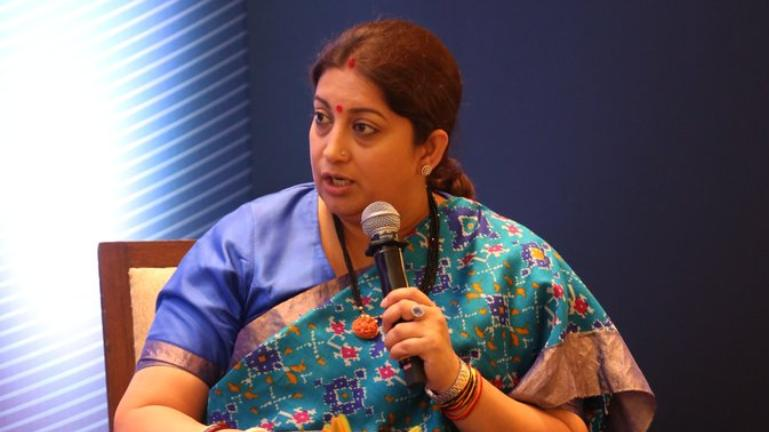 Dear Smriti Irani, If Only Women Didn't Have To Wear Their Bleeding Uterus