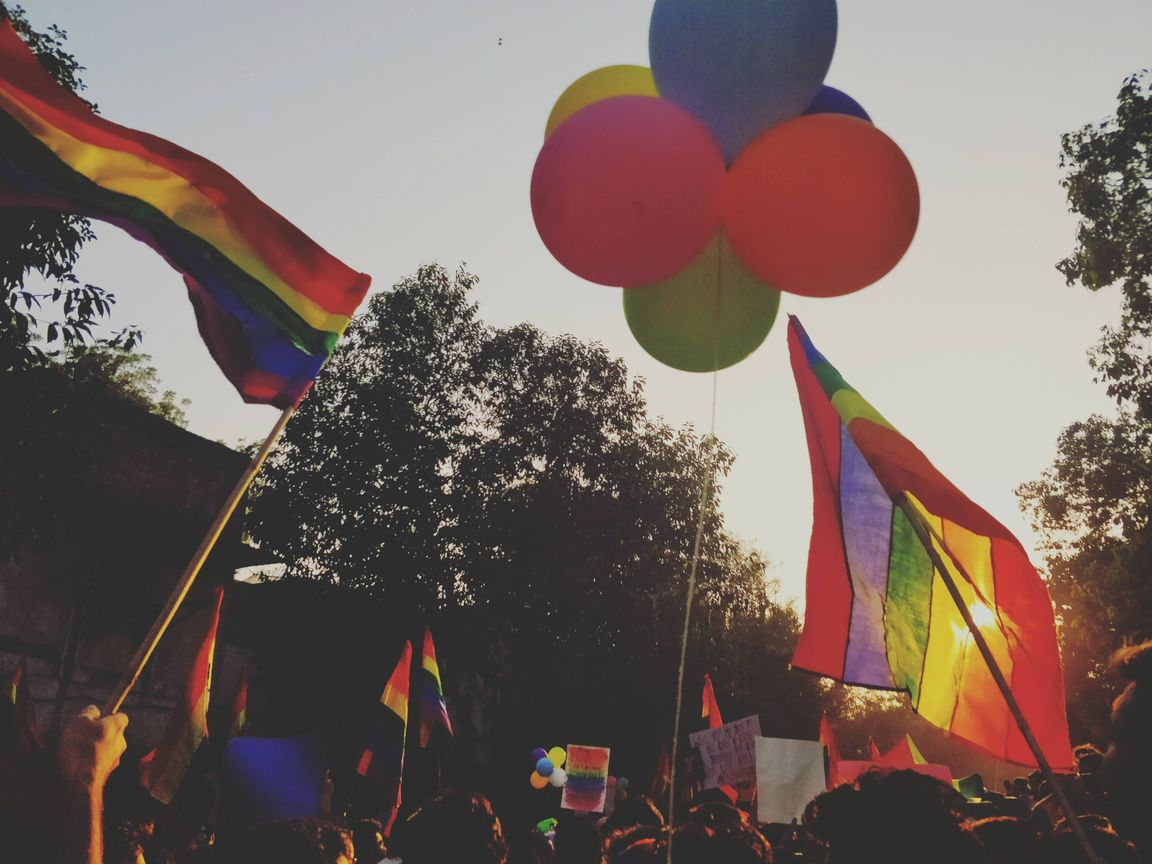 In Photos: Delhi Bursts With Pride After 377 Judgment – Delhi Queer Pride 2018
