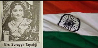 surayya tyabji woman who designed indian flag