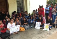 TISS, Hyderabad Students Protest Against Arbitrary Administrative Decisions