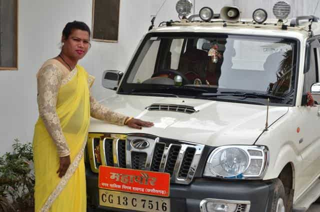 Madhu Bai Kinnar - women mayors