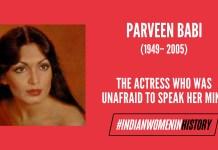 Parveen Babi: The Actress Who Was Unafraid To Speak Her Mind   #IndianWomenInHistory