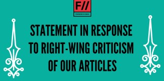 FII's Statement In Response To Right-Wing Criticism Of Its Articles