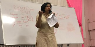 Asmita Ghosh Gives A Workshop at NIT Calicut