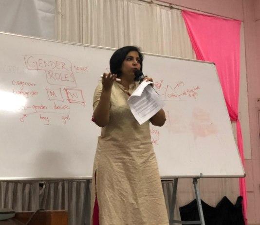 Asmita Ghosh Gives A Workshop at NIT Calicut