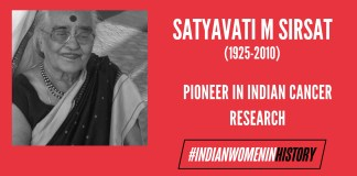 Satyavati M Sirsat: Pioneer In Indian Cancer Research | #IndianWomenInHistory
