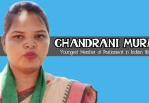 Chandrani Murmu BJD Odisha Youngest MP Woman Tribal ST 2019