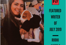 Meet Roohi Narula – FII's Featured Writer Of July 2019