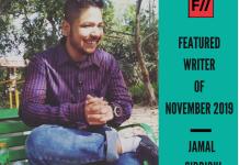 Meet Jamal Siddiqui – FII's Featured Writer Of November 2019