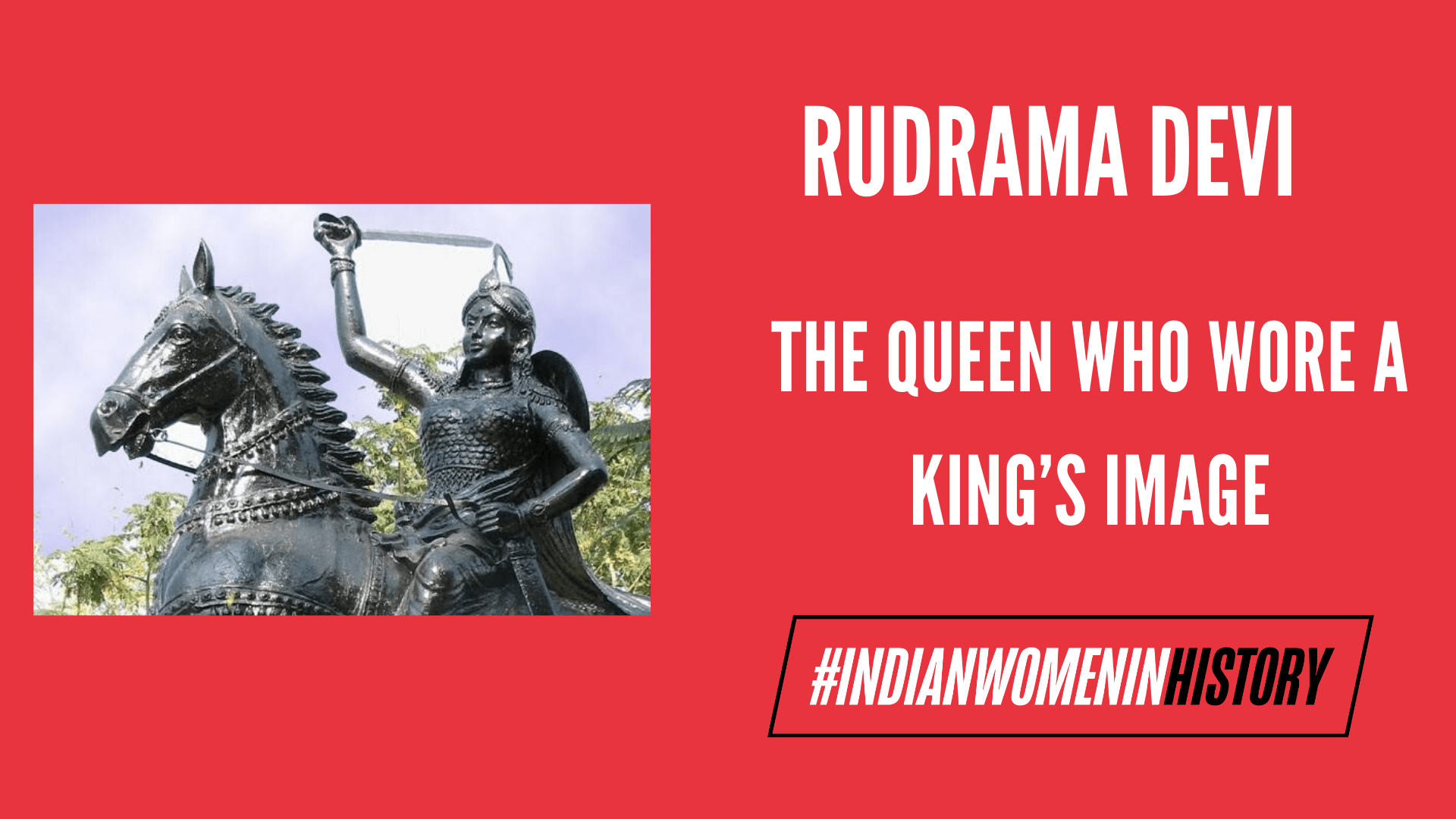 Rudrama Devi: The Queen Who Wore A King's Image | #IndianWomenInHistory