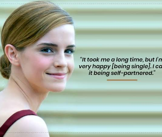 """I Call It Being Self-Partnered"": Emma Watson On Turning 30"