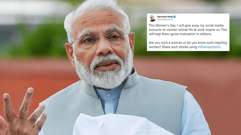 PM Modi Is Giving Up His Social Media To Women, And We Have Some Suggestions!