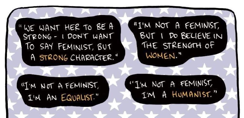 Dear 'Equalists' & 'Humanists', We Need To Have A Conversation About Feminism