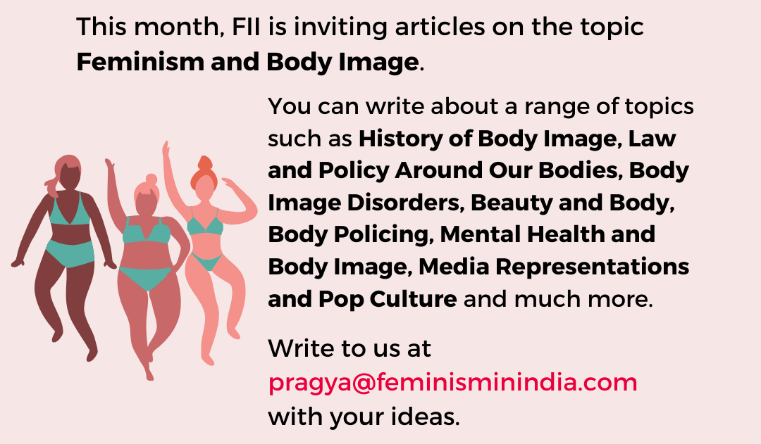 Feminism And Body Image – Mood Of The Month For July, 2020
