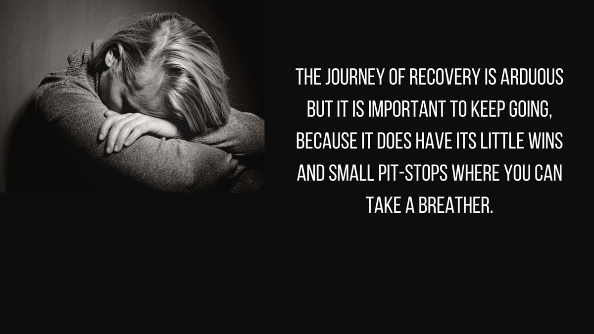 The Non-Linear, Tough Journey That Is Recovery