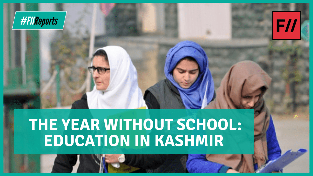 Video: Education In Kashmir A Year From Abrogation Of Art. 370