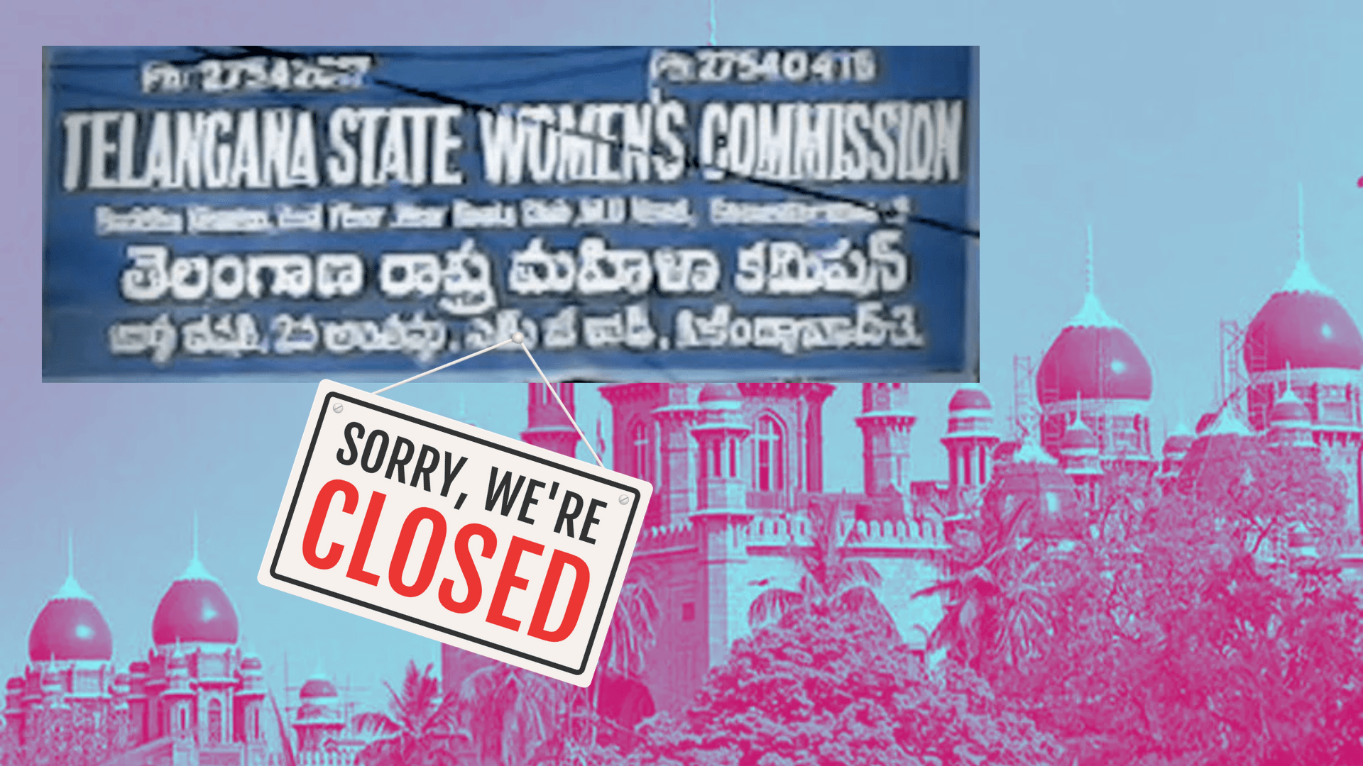A Letter To The President On The Phantom Telangana Women's Commission