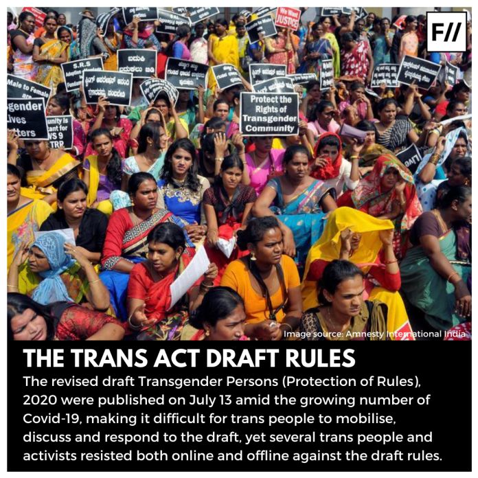 Trans Act Draft Rules