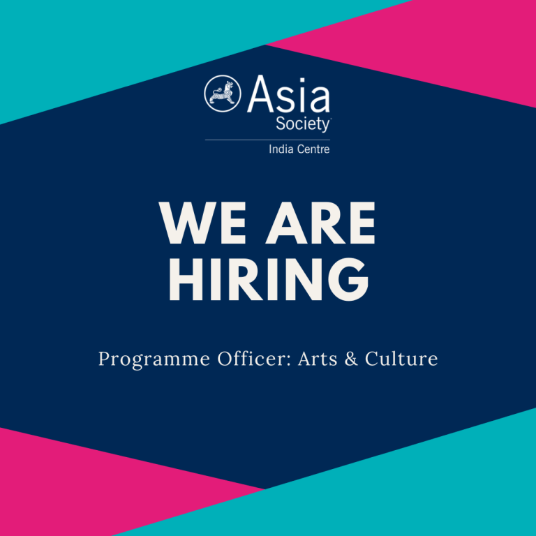 Asia Society India Is Looking For A Programme Officer – Arts and Culture