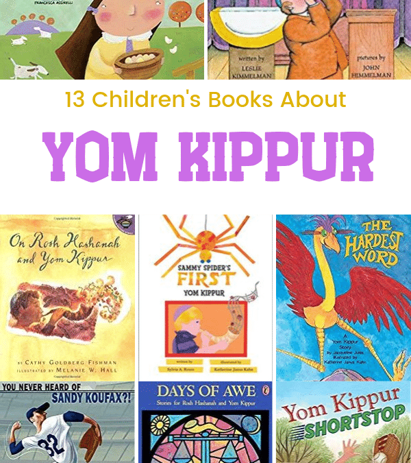 13 Children's Books About Yom Kippur