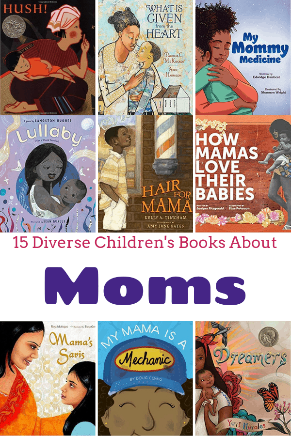 Diverse Children's Books About Moms