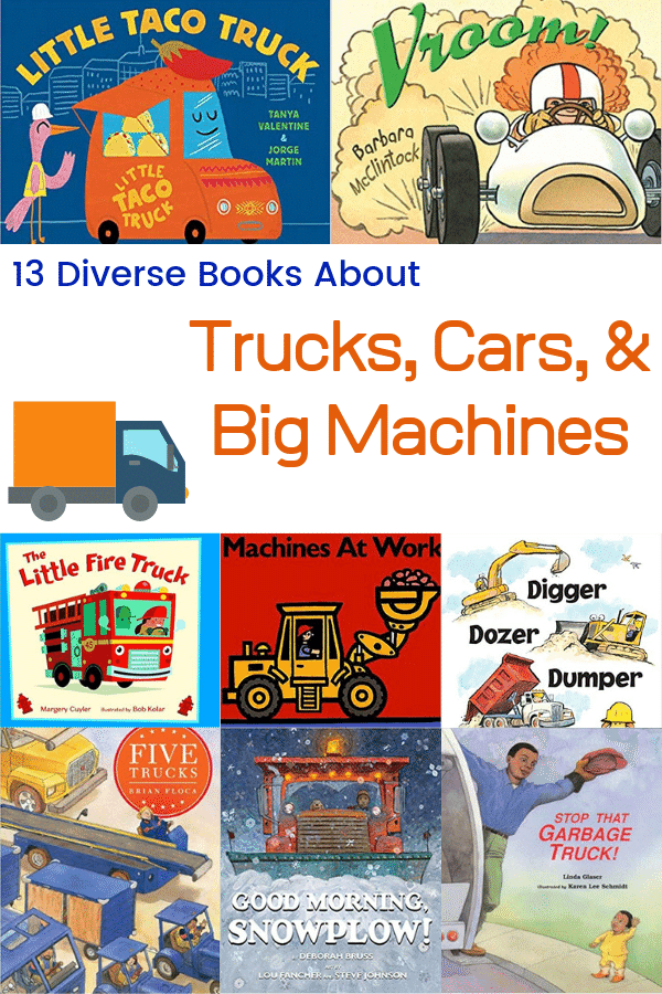 Diverse Books About Trucks