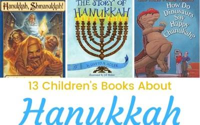 13 Hanukkah Books for Kids