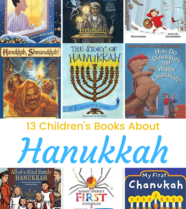 13 Hanukkah Books for Kids