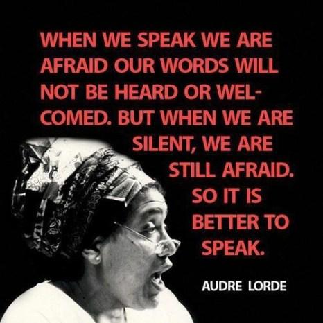 It Is Better to Speak