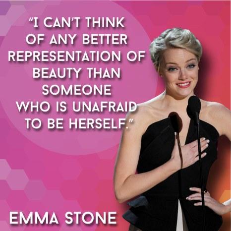 Unafraid To Be Herself