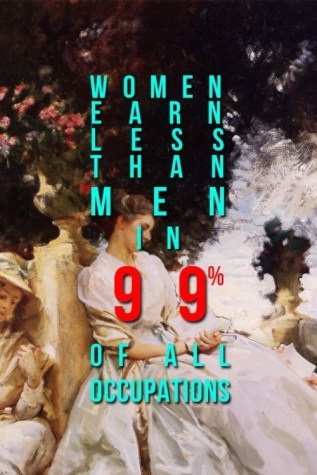 Women Earn Less