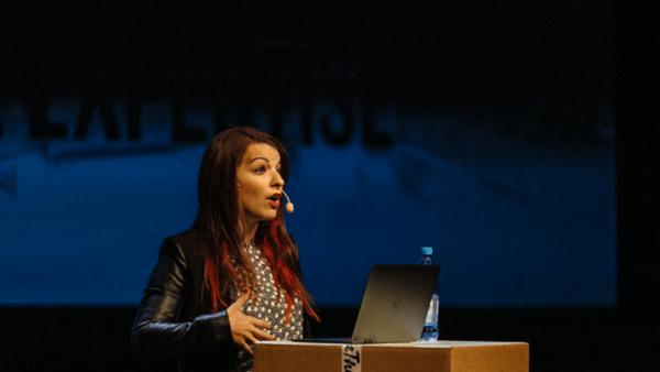 Anita at 2015 Media Evolution Conference