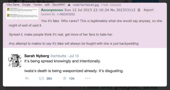 071215 - @srhbutts - iwata fake tweets - 4chan2