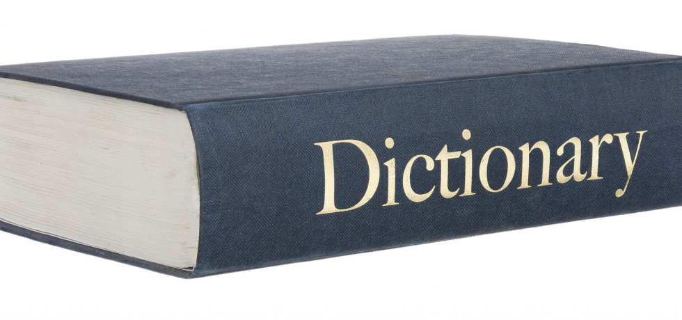 DIctionary written by young angry men