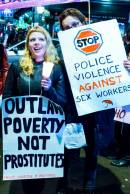 International Day to End Violence Against Sex Workers in Soho, London in 2014. Photo credit: English Collective of Prostitutes