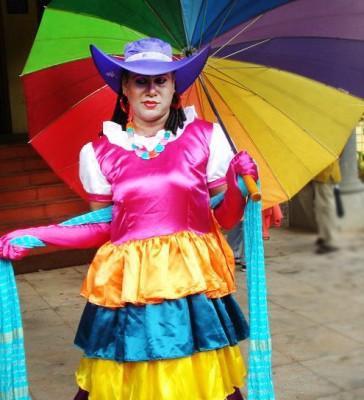 Queer Activist Sweet Maria