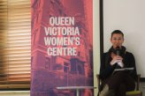 Amy Middleton in Queer, transgender & feminist writing (Photo by Clare O'Shannessy)
